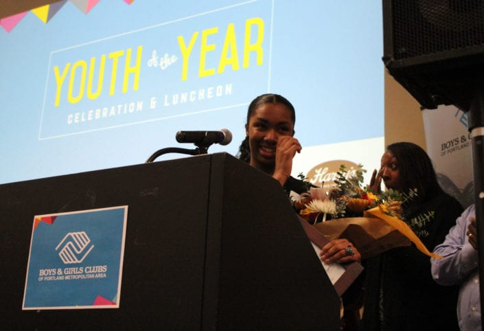 Boys & Girls Clubs Youth of the Year Teya