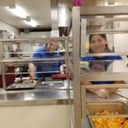 Inukai Kids Cafe Staff working