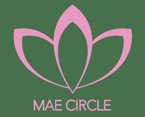 MAE Circle flower logo