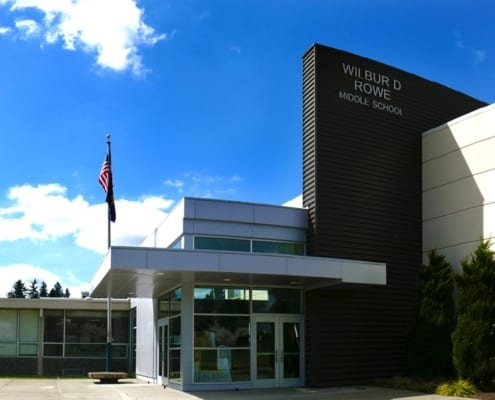 <center> WIlbur Rowe Middle School </center>